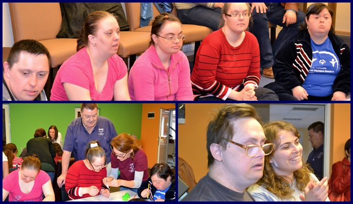 Down's syndrome day at Salonta