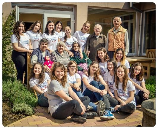 Rebeca and the Volunteer Team at JFL2